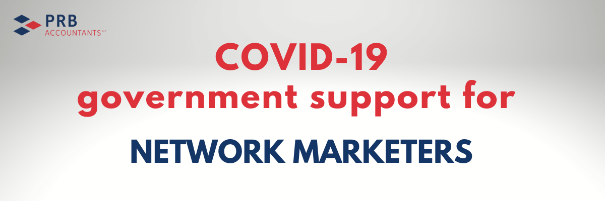 COVID-19 support for Network Marketers